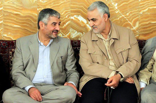 حاج قاسم و فرماندهان سپاه در مشهد