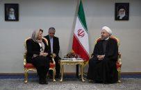 روحانی با رئیس مجلس سوریه دیدار و گفتوگو کرد