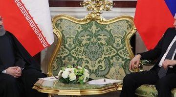 روحانی: هیچ مانعی در مسیر روابط مشترک ایران و روسیه وجود ندارد/ پوتین: روسیه، ایران را شریک خوب و قابل اعتماد خود می داند