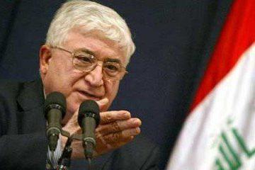 رئیس جمهور عراق: اوضاع در موصل فاجعهبار است