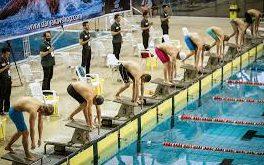 قهرمانی موجهای آبی در لیگ شنا