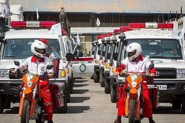 راه اندازی ۱۳۳۳ پایگاه امدادرسانی هلال احمر در نوروز ۹۶