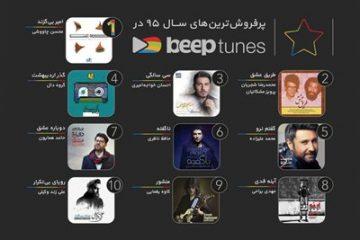 پرفروش ترین آلبوم های موسیقی سال ۱۳۹۵