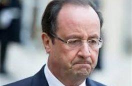درخواست اولاند از مردم فرانسه برای حمایت از ماکرون