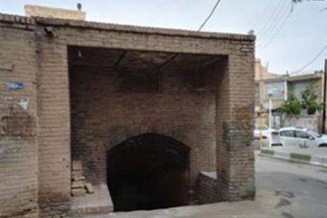 ساماندهی و مرمت آبانبار حاجیشیخ در سمنان
