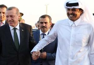 """امیر قطر نام """"اردوغان"""" را برروی اسب خود گذاشت!"""