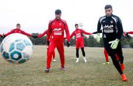 باقری و سه سرخپوش غایبان اردوی سرخپوشان در مشهد