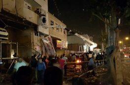 انفجار یک فروشگاه بزرگ در شیراز
