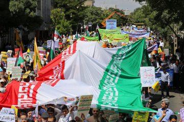 برگزاری راهپیمایی روز قدس در ۵۰ نقطه جمعیتی سیستان و بلوچستان