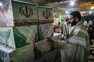 یادواره شهدای شهر مهر ملکشاهی برگزار شد