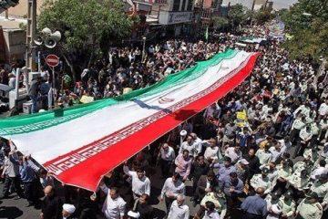 راهپیمایی روز قدس در شیراز از چهار راه ۱۵ خرداد آغاز می شود