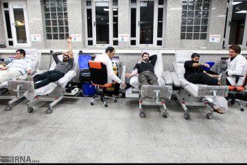 اهداء خون در شب بیست و یکم ماه رمضان