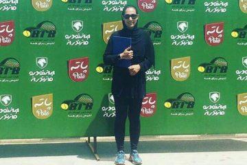 خداحافظی اجباری نفر اول تنیس زنان ایران ازدنیای توپ و تور