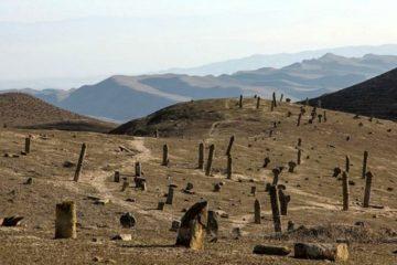 حصارکشی گورستان باستانی خالدنبی آغاز شد