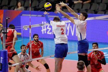عملکرد خط دفاعی والیبال ایران مقابل صربستان ضعیف بود