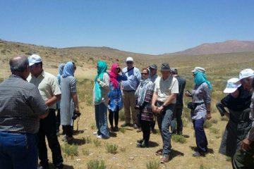 کارشناسان محیط زیست اتریش از زیستگاه های اصفهان دیدن کردند