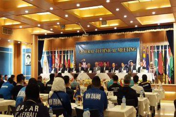 برنامه مسابقات والیبال نوجوانان قهرمانی آسیا مشخص شد