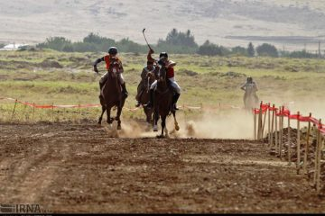 مسابقات اسبدوانی منطقه غرب کشور