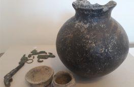 اشیای تاریخی مربوط به هزاره اول قبل از میلاد در سراب کشف شد