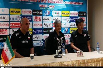 سرمربی تیم والیبال نوجوانان ایران: به تکنیک بدنی ژاپن باختیم