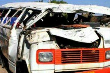 واژگونی مینی بوس ۳۱ مصدوم و یک کشته برجای گذاشت