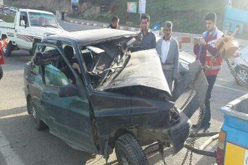 تصادف در جاده بوکان – سقز سه کشته برجا گذاشت