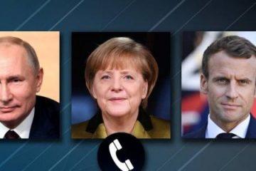 توافق رهبران روسیه، آلمان و فرانسه برای حفظ برجام